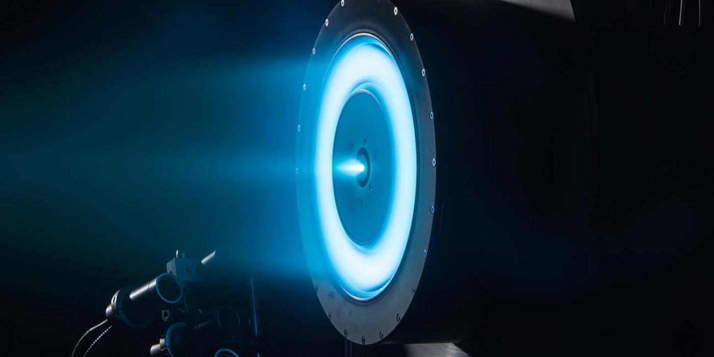 NASA's solar electric propulsion project is developing technologies to extend the length, range and capability of flight in space.
